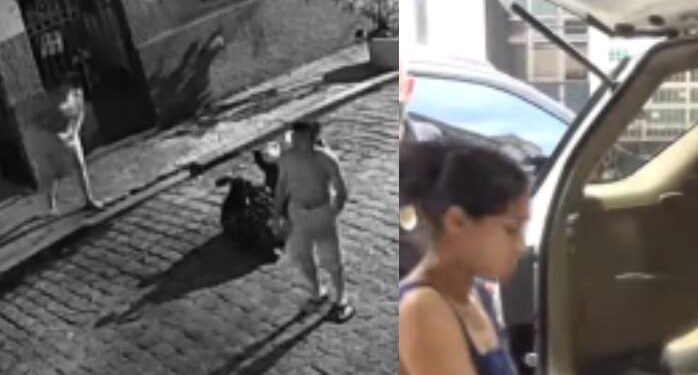 Vídeo: mulher é presa após matar bebê enforcada com alça de sutiã
